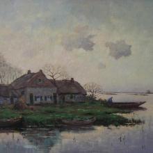 163 w.j. van smorenburg - boerderij tussen de plassen