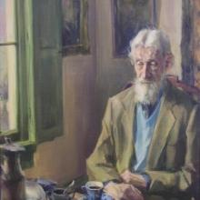 19 gert bogels - portret van schilder barend van voorden