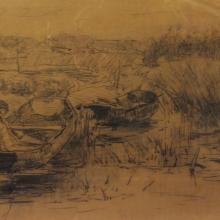 195 j.h. wijsmuller - te kortenhoef boer in bootje